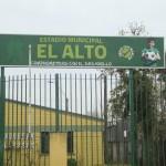 Campeonato de Fútbol agosto de 2013, Estadio el ALTO de Padre las Casas.